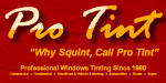 ProTint Window Tinting